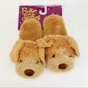Doggie Fluffier Scuffers Slippers